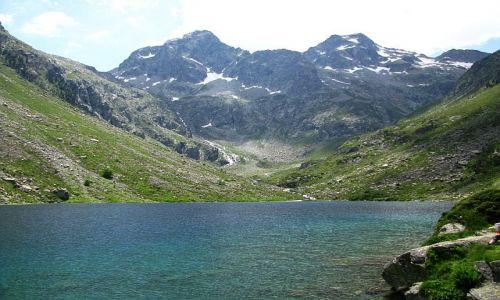 Zdjęcie FRANCJA / ok. Cauterets / Pireneje francuskie / jezioro d'Estom