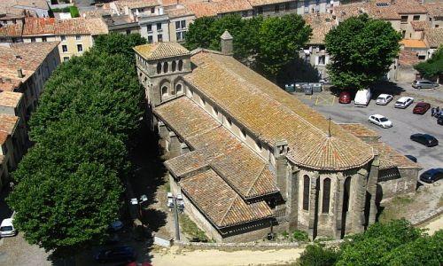 Zdjęcie FRANCJA / Gaskonia / Carcassonne / widok z murów zamku