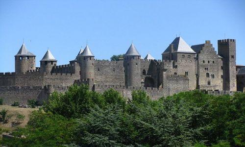 Zdjęcie FRANCJA / Gaskonia / Carcassonne / Panorama