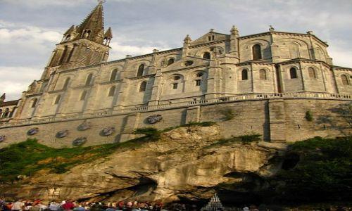 Zdjęcie FRANCJA / Środkowe Pireneje / Lourdes / Sanktuarium Matki Bożej