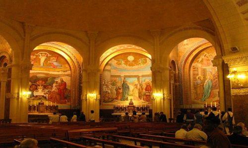 Zdjęcie FRANCJA / Środkowe Pireneje / Lourdes / bazylika Matki Boskiej Różańcowej