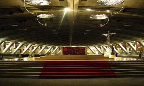 Zdjęcie FRANCJA / Środkowe Pireneje / Lourdes / bazylika Św. Piusa X