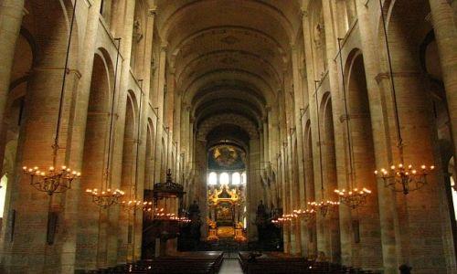 Zdjęcie FRANCJA / Langwedocja-Roussillon / Tuluza / bazylika St-Sernin