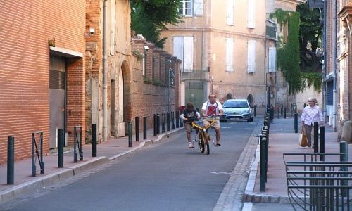 Zdjęcie FRANCJA / Langwedocja-Roussillon / Tuluza / francuski tandem