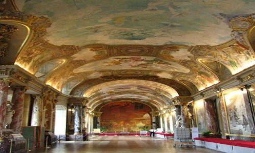 Zdjęcie FRANCJA / Langwedocja-Roussillon / Tuluza / ratusz - Salle des Illustres
