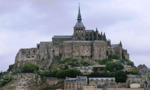Zdjecie FRANCJA / Normandia / Mont-Sant-Mchel / OPACTWO