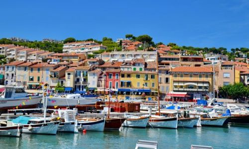 Zdjecie FRANCJA / Provance / Cassis / Port w Cassis