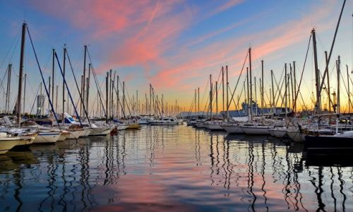 Zdjecie FRANCJA / Provance / Toulon / Porto w Toulonie
