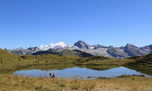 Zdjecie FRANCJA / Haute-Savoie / Lac de Peyre / Lac de Peyre