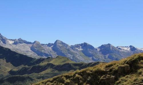 Zdjecie FRANCJA / Haute-Savoie / Lac de Peyre / Pasmo Aravis