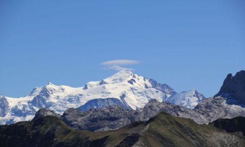 Zdjecie FRANCJA / Haute-Savoie / Lac de Peyre / Mont Blanc