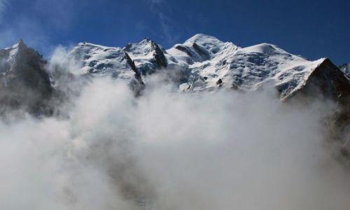 Zdjęcie FRANCJA / Alpy / chamonix / Mt Blanc 4810 m npm