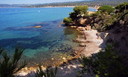 Zdjecie FRANCJA / prowansja / St.Cyr-sur-Mer / dzika plaża