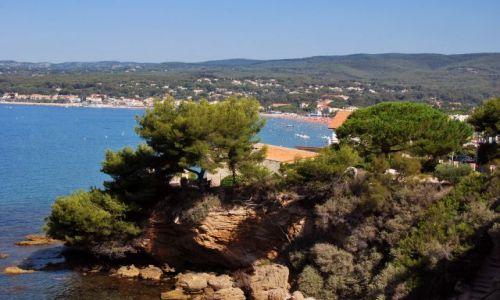 Zdjecie FRANCJA / prowansja / St.Cyr-sur-Mer / zatoka des lesques