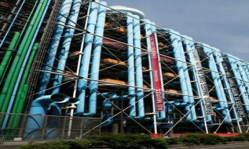 FRANCJA / - / Paryż / Centrum Pompidou
