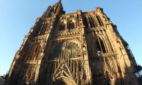 Zdjecie FRANCJA / - / STRASBOURG / Katedra