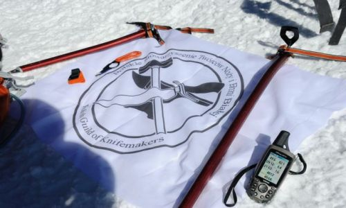 Zdj�cie FRANCJA / Alpy / Les Houches / Mont Blanc notatki spo szczytu