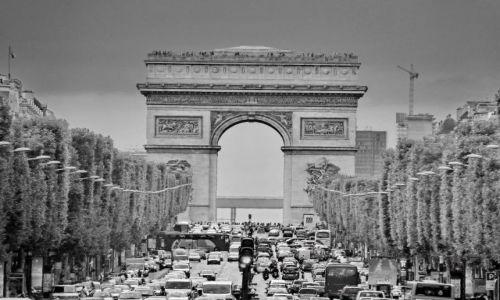 Zdjecie FRANCJA / Ile de france / Paris / Champs Elysees