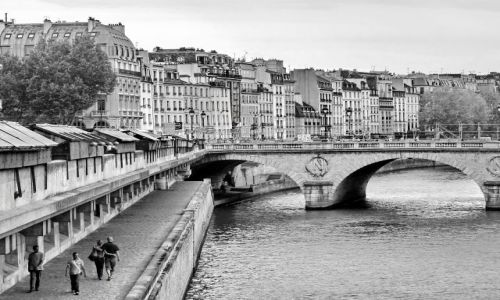 Zdjecie FRANCJA / Ile de france / Paris / Seine
