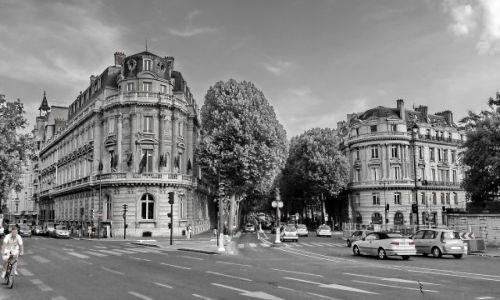 FRANCJA / Ile de france / Paris / Ulice Paryża