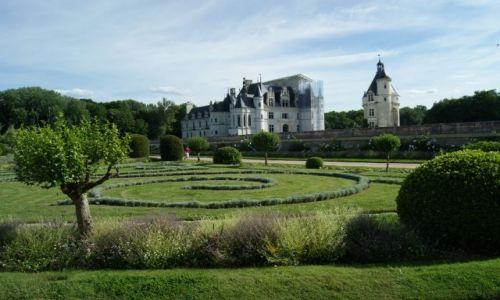 Zdjecie FRANCJA / Środkowa Francja / Chenonceau  zamek na rzece Cher / Zamki nad Loarą
