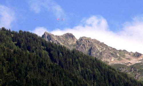 FRANCJA / Chamonix / Alpy / Z innej wysokości