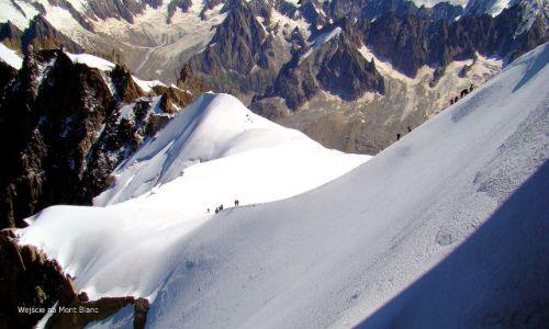 Zdjecie FRANCJA / - / okolica Chamonix / Mont Blanc