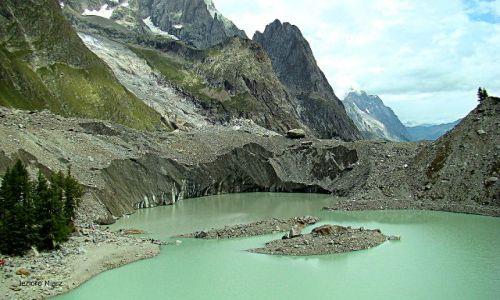 Zdjecie FRANCJA / - / okolica Chamonix / Jezioro Miarz