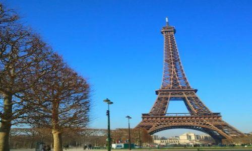Zdjecie FRANCJA / - / Paryż / Wieża Eiffla