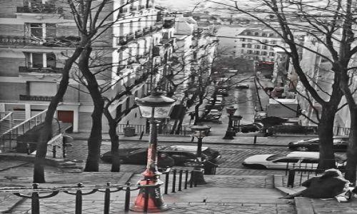 FRANCJA / - / Paryż / Paryskie schody