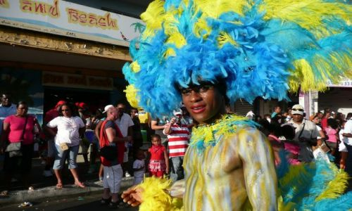 FRANCJA / Karaiby / Fort-de-France / Karnawał na Martynice
