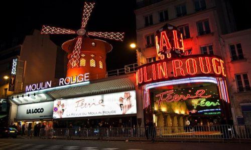 Zdjecie FRANCJA / - / Paryż / kabaretowa noc