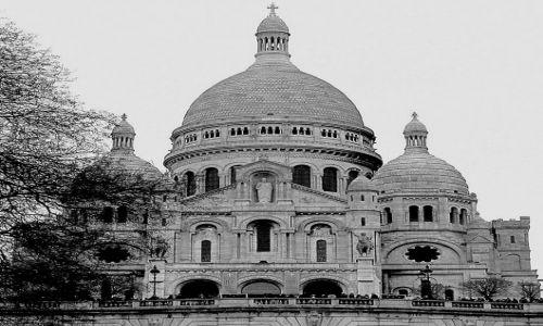 FRANCJA / - / Paris / Basilique du Sacr�-Cœur
