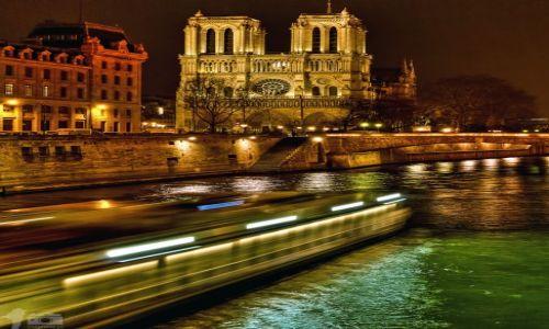 Zdjecie FRANCJA / Paris / Notre-Dame de Paris / Cathédrale Notre-Dame de Paris by Night