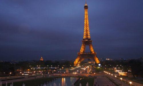 Zdjecie FRANCJA / - / Paryż / Paryż nocą