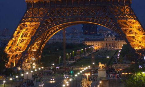 Zdjecie FRANCJA / - / Paryż / Piękny Paryż nocą!