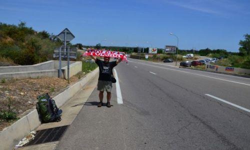 FRANCJA / Korsyka / Droga do Calvi / Autostop