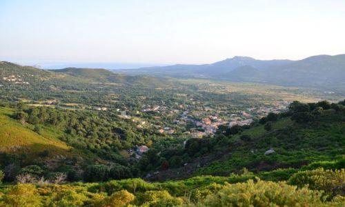 FRANCJA / Korsyka / Szlak GR20 / Widok z góry