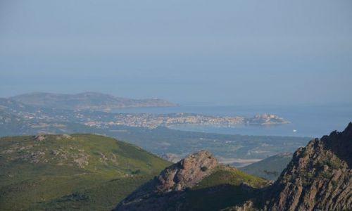 FRANCJA / Korsyka / Szlak GR20 / Widok na Calvi