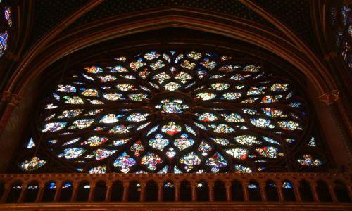 Zdjęcie FRANCJA / Paryz / Katedra  / Vitrazovo