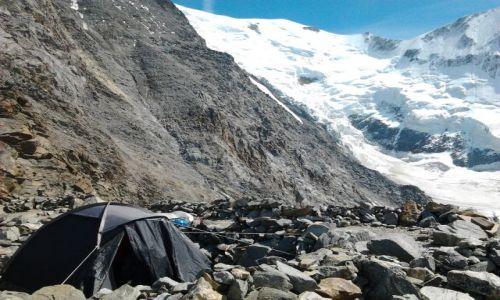 Zdjecie FRANCJA / Alpy francuskie / Aigle du Bionasay / Mont Blanc