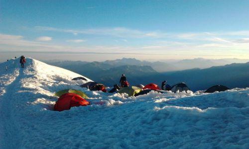 Zdjecie FRANCJA / Alpy francuskie / W pobliżu schroniska Gouter / Gouter