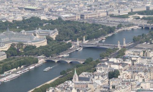 FRANCJA / - / Paryż / Panorama Paryża