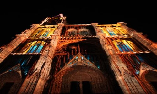 Zdjecie FRANCJA / Alzacja / Strasburg / Katedra w Strasburgu