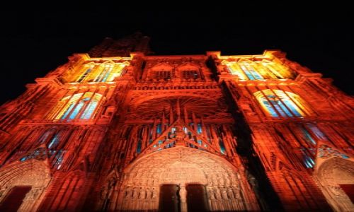 Zdjęcie FRANCJA / Alzacja / Strasburg / Katedra w Strasburgu
