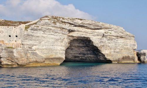 Zdjecie FRANCJA / Korsyka / Bonifacio / Jaskinia
