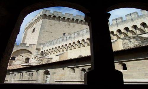 Zdjecie FRANCJA / Prowansja / Avignon, Palais des Papes / Pałac Papieży