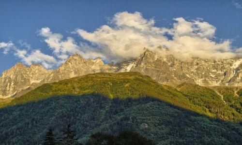 Zdjęcie FRANCJA / Europa / Chamonix / konkurs_zachód_w_Chamonix