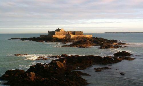 Zdjęcie FRANCJA / Bretania / Saint-Malo / Fort National