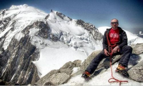 FRANCJA / Masyw Mont Blanc / Szczyt Mont Blanc du Tacul / Mont Blanc du Tacul